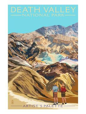 Artist's Palette - Death Valley National Park by Lantern Press