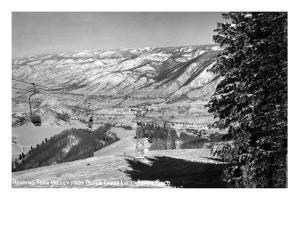 Aspen, Colorado - Aspen Chair Lift View of Roaring Fork Valley by Lantern Press