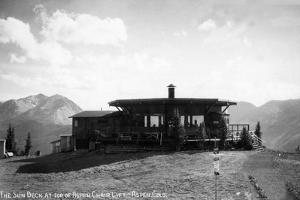 Aspen, Colorado - Sun Deck atop the Chair Lift by Lantern Press