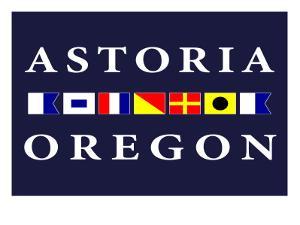 Astoria, Oregon - Nautical Flags by Lantern Press