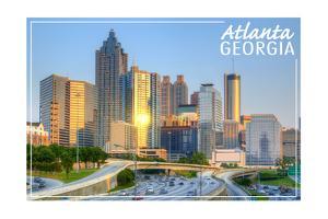 Atlanta, Georgia - Skyline during Day by Lantern Press
