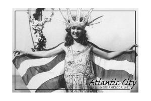 Atlantic City, New Jersey - Miss America at Carnival - by Lantern Press