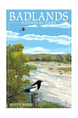 Badlands National Park, South Dakota - White River