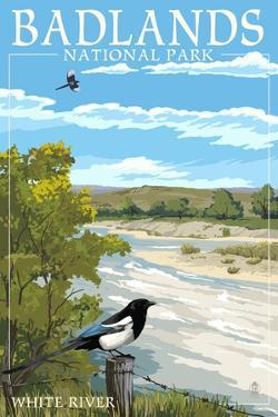 Badlands National Park, South Dakota - White River by Lantern Press