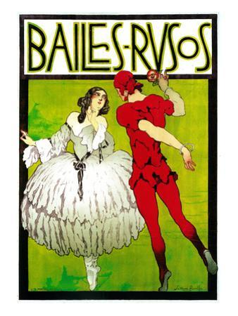 Bailes Rusos (Russion Dance) Theater by Lantern Press