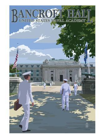 Bancroft Hall - United States Naval Academy - Annapolis, Maryland by Lantern Press
