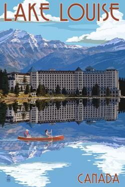 Banff, Canada - Lake Louise by Lantern Press