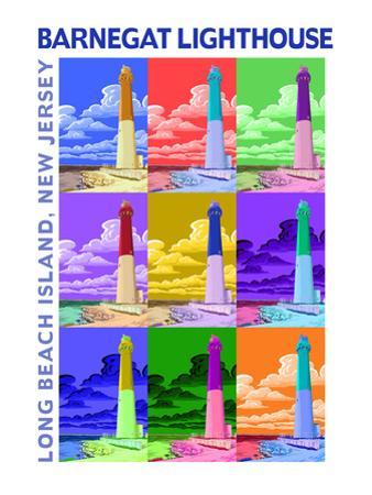 Barnegat Lighthouse, New Jersey Shore by Lantern Press