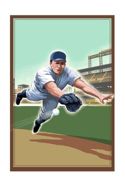 Baseball - Shortstop by Lantern Press