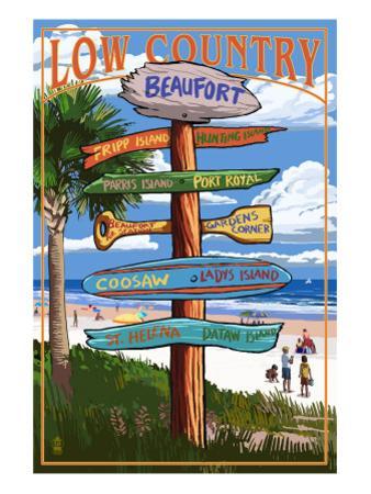 Beaufort, South Carolina - Sign Destinations