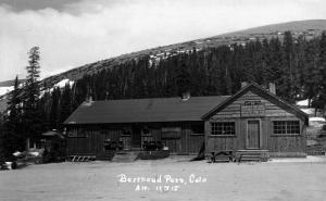 Berthoud Pass, Colorado - Berthoud Pass Inn Exterior by Lantern Press