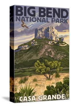 Big Bend National Park, Texas - Casa Grande by Lantern Press