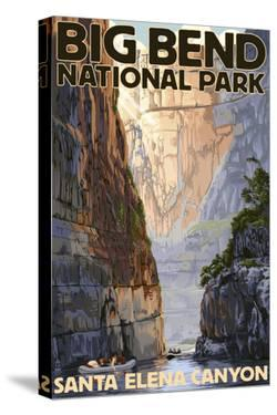 Big Bend National Park, Texas - Santa Elena Canyon by Lantern Press