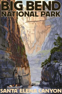 Big Bend National Park, Texas - Santa Elena Canyon by Lantern Press
