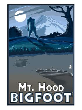 Bigfoot - Mt. Hood, Oregon by Lantern Press