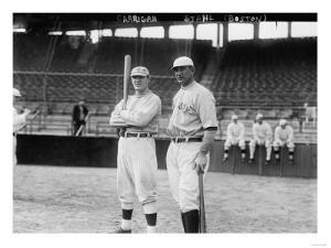 Bill Carrigan & Jake Stahl, Boston Red Sox, Baseball Photo - Boston, MA by Lantern Press