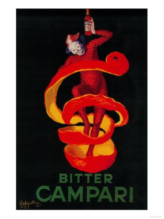 Bitter Campari Vintage Poster - Europe by Lantern Press