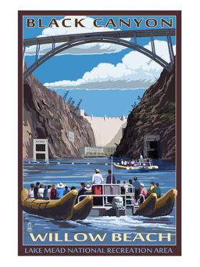 Black Canyon - Willow Beach - Lake Mead National Recreation Area by Lantern Press