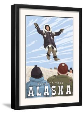 Blanket Toss, Barrow, Alaska by Lantern Press