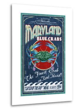Blue Crabs - Kent Island, Maryland by Lantern Press