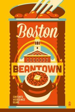 Boston, Massachusetts - Beantown by Lantern Press