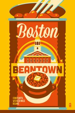Boston, Massachusetts - Beantown by Lantern Press