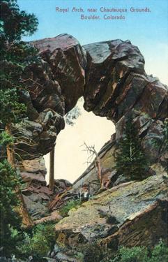 Boulder, Colorado - Royal Arch Near Chautauqua Grounds View by Lantern Press