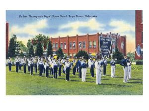 Boys Town, Nebraska - Father Flanagan's Boys' Home Marching Band by Lantern Press