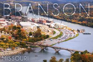 Branson, Missouri - Ozarks by Lantern Press