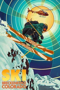 Breckenridge, Colorado - Heli-Skiing by Lantern Press