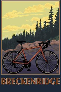 Breckenridge, Colorado - Mountain Bike by Lantern Press