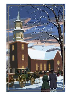 Bruton Parish - Williamsburg, Virginia by Lantern Press