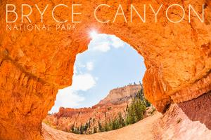 Bryce Canyon National Park, Utah - Natural Bridge by Lantern Press