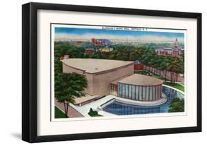 Buffalo, New York - Exterior View of Kleinhan's Music Hall by Lantern Press