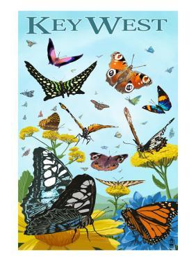 Butterfly Garden - Key West, Florida by Lantern Press