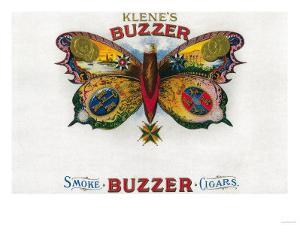 Buzzer Cigar Box Label by Lantern Press