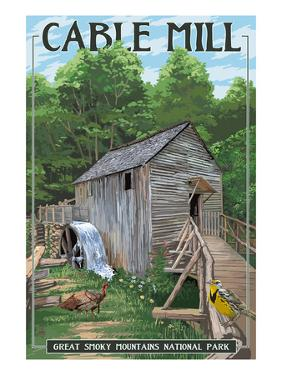 Cable Mill - Great Smoky Mountains National Park, TN by Lantern Press