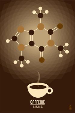 Caffeine - Chemical Elements by Lantern Press