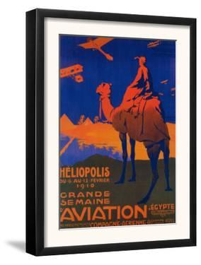 Cairo, Egypt - French Airline Promotional Poster by Lantern Press