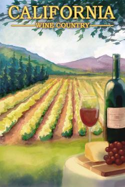 California Wine Country by Lantern Press