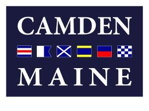 Camden, Maine - Nautical Flags by Lantern Press
