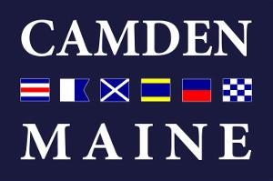 Camden, Maine - Nautical Flags by Lantern Press