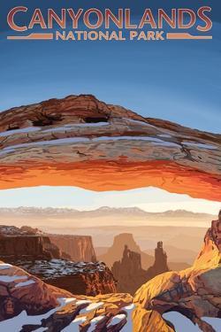 Canyonlands National Park, Utah - Arch by Lantern Press