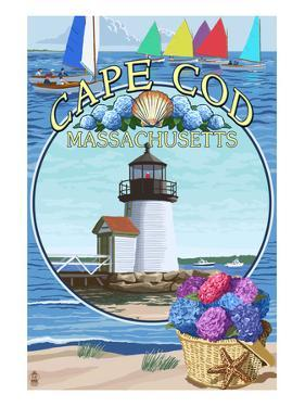 Cape Cod, Massachusetts - Montage by Lantern Press