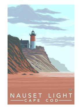 Cape Cod, Massachusetts, Nauset Lighthouse by Lantern Press