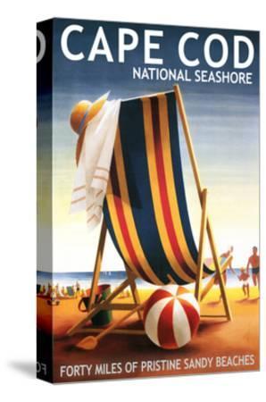 Cape Cod National Seashore - Beach Chair and Ball
