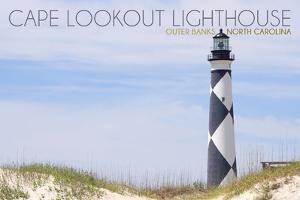 Cape Lookout Lighthouse - Outer Banks, North Carolina by Lantern Press