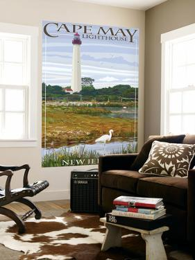 Cape May Lighthouse - New Jersey Shore by Lantern Press