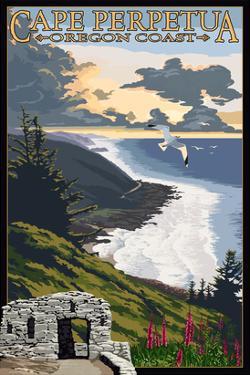 Cape Perpetua - Oregon Coast by Lantern Press