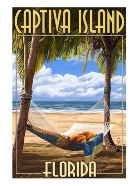 Captiva Island, Florida - Hammock Scene by Lantern Press